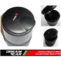 Dreamcar Magnum Plastik Gövdeli Silikon Tabanlı Küllük Siyah 07080