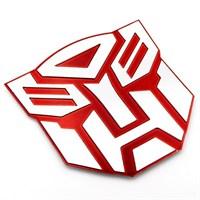 Solfera Reflektörlü Transformers Otomobil Stıckerı Cs018