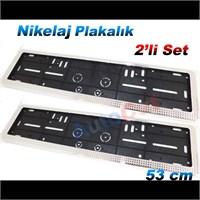 AutoCet 53 cm Nikelaj M101 Plakalık 2´li Set (51448)