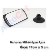 AutoCet Universal Dikdörtgen Vantuzlu Ayna (51469)