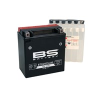 Bs-Battery Btx20ch-Bs (Ytx20ch-Bs) 12V 18Ah 270Cca Agm Bakımsız Motosiklet Aküsü