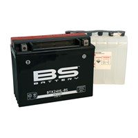 Bs-Battery Btx24hl-Bs (Ytx24hl-Bs) 12V 21Ah 350Cca Agm Bakımsız Motosiklet Aküsü
