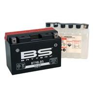 Bs-Battery Bt9b-Bs (Yt9b-Bs) 12V 8Ah 115Cca Agm Bakımsız Motosiklet Aküsü