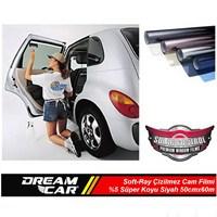 Dreamcar Soft-Ray Çizilmez Cam Filmi Süper Koyu Siyah %5 50cmx6m 1142008