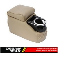 Dreamcar Yumuşak Ekstra Konfor Kolçak Bej 2708001