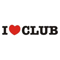 Sticker Masters I Love Club Sticker