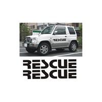 Sticker Masters Rescue Jeep Sticker