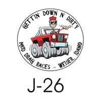 Sticker Masters Jeep Sticker 26