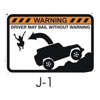 Sticker Masters Jeep Sticker 12