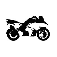 Sticker Masters Bmw Gs Motosiklet Sticker