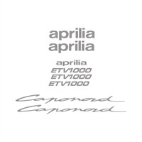 Sticker Masters Aprilia Capanord Etv 1000 Sticker Set