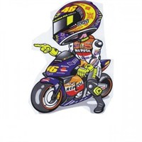 Sticker Masters Racing Motosiklet Sticker