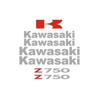 Sticker Masters Kawasaki Z750 Sticker Set