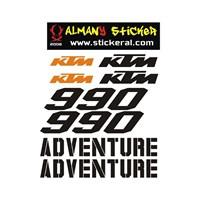 Sticker Masters Ktm 990 Sticker Set