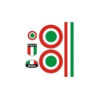 Sticker Masters Vespa İtalyan Sticker Set