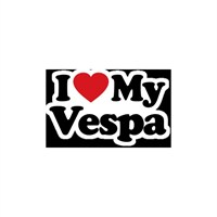 Sticker Masters I Love My Vespa