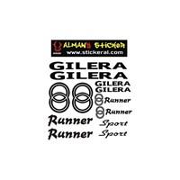 Sticker Masters Gilera Runner Sticker