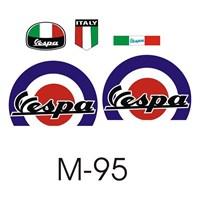 Sticker Masters Vespa Set