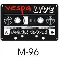Sticker Masters Vespa Kaset Sticker
