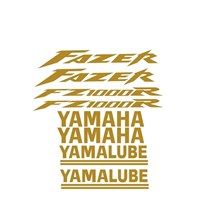 Sticker Masters Yamaha Fazer 1000R Sticker Set