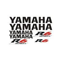 Sticker Masters Yamaha R6 Sticker Set