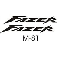 Sticker Masters Yamaha Fazer Sticker Set