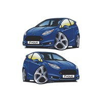 Sticker Masters Ford Focus Basık Araç Sticker