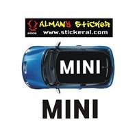 Sticker Masters Mini Cooper Tavan Sticker(Mini)