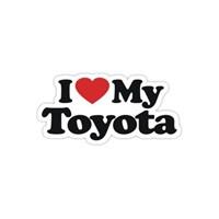 Sticker Masters I Love My Toyota