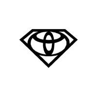 Sticker Masters Toyota Süpermen Logo Sticker