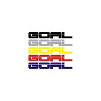 Sticker Masters Volkswagen Golf Goal Sticker