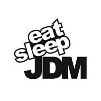 Sticker Masters Eat Sleep Jdm