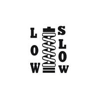 Sticker Masters Low & Slow Sticker