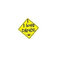 Sticker Masters I Love Dance