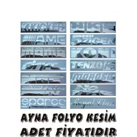 Sticker Masters Ayna Folyo Kesim Yazı