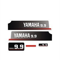Sticker Masters Yamaha 9.9 Hp Sticker Set