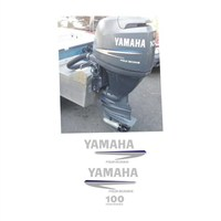 Sticker Masters Yamaha 100 Hp Sticker Set