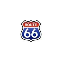 Sticker Masters Route66 Sticker