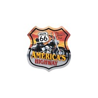Sticker Masters Route 66 Sticker