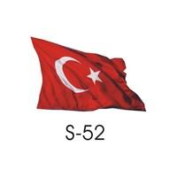 Sticker Masters Türk Bayrağı Sticker