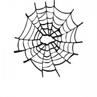 Sticker Masters Örümcek Ağı Sticker