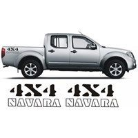 Sticker Masters Nissan Navara 4X4 Sticker Set