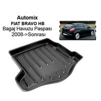 Automix Fiat Bravo Hb Bagaj Havuzu Paspası 2008->Sonrası->Sonrası Siyah