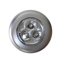Autocsi Dokunmatik 3 Ledli Yapışkanlı Tavan Lambası Gri 11295