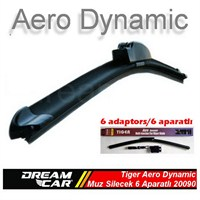 Dreamcar Tiger Aero Dynamic Araca Özel 6 Aparatlı Muz Tipi Yeni Nesil Silecek 510 mm. 2009006