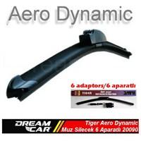 Dreamcar Tiger Aero Dynamic Araca Özel 6 Aparatlı Muz Tipi Yeni Nesil Silecek 600 mm. 2009009