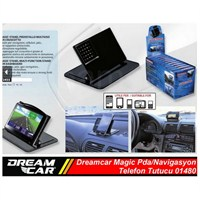 Dreamcar Magic Pda/Telefon/Navigasyon Tutucu 01480