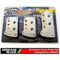Dreamcar Corsa Pedal Seti Gümüş/Krom 4504401