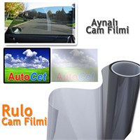 AutoCet 50 cm 6 MT Çizilmez Aynalı Cam Filmi (25371)