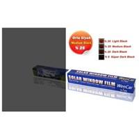 Çizilmez Rulo Cam Filmi M.Black %25 (Orta Koyu) 75 cm x 6 MT 1004679
